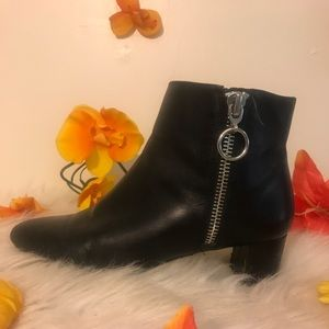Nine West Black Booties